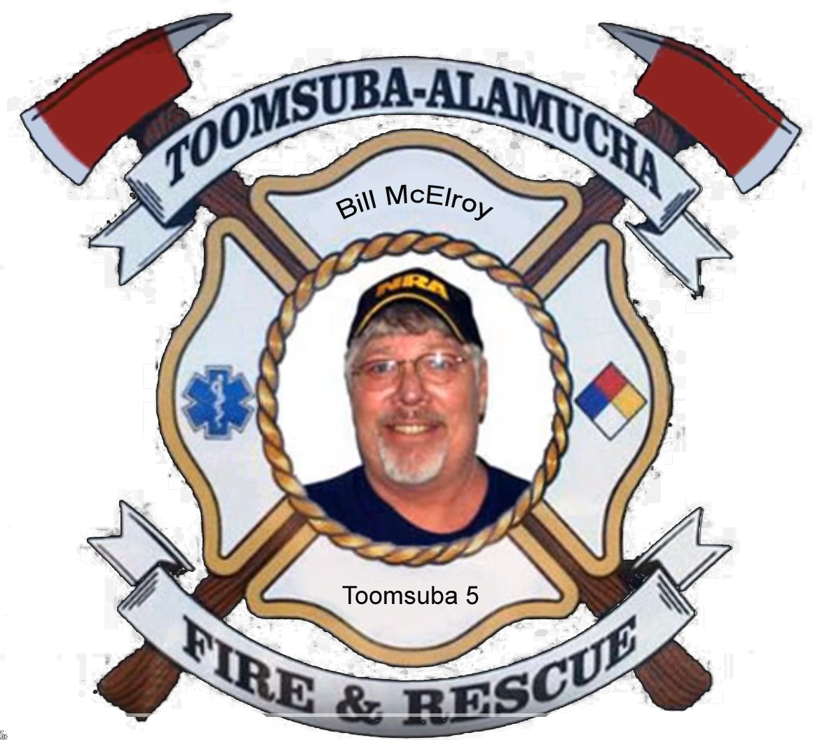 Bill McElroy; Toomsuba Firefighter