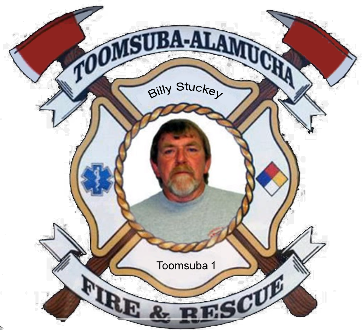 Billy Stuckey; Toomsuba Firefighter