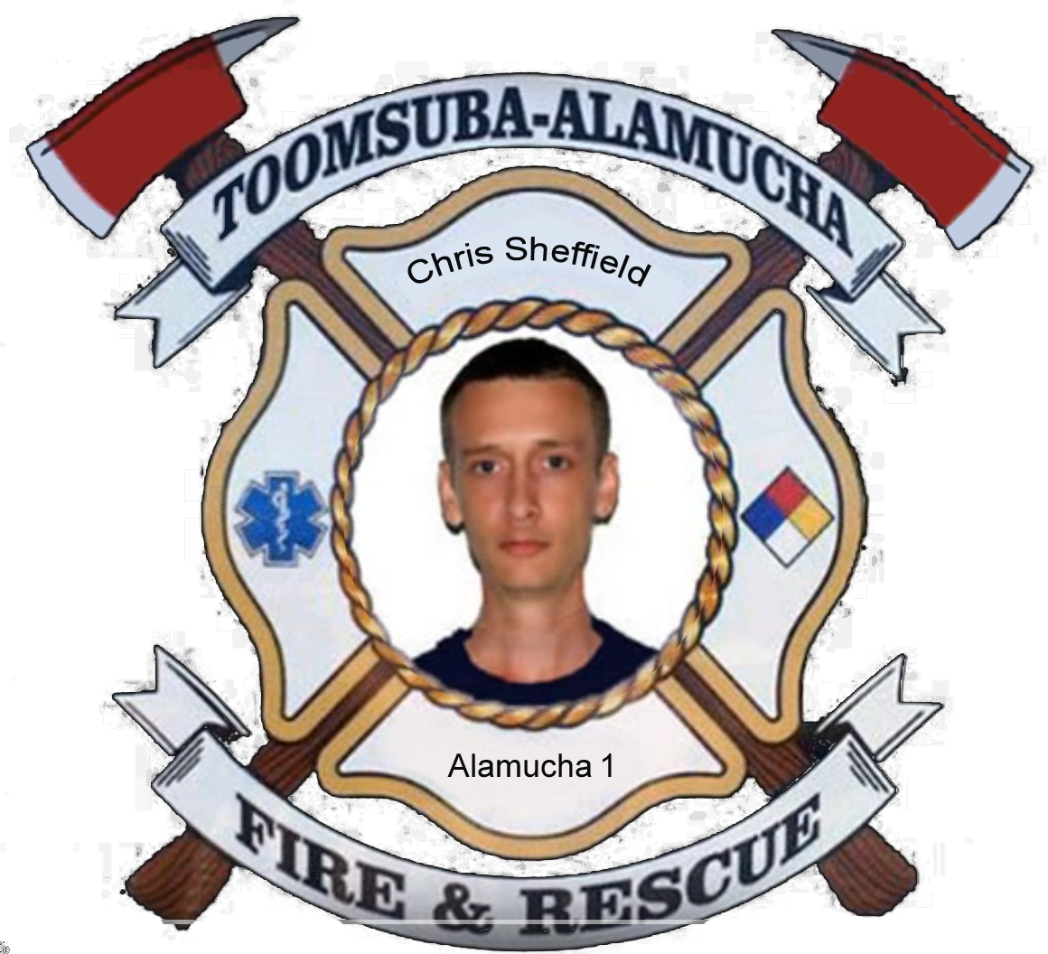 Chris Sheffield; Alamucha Firefighter #1