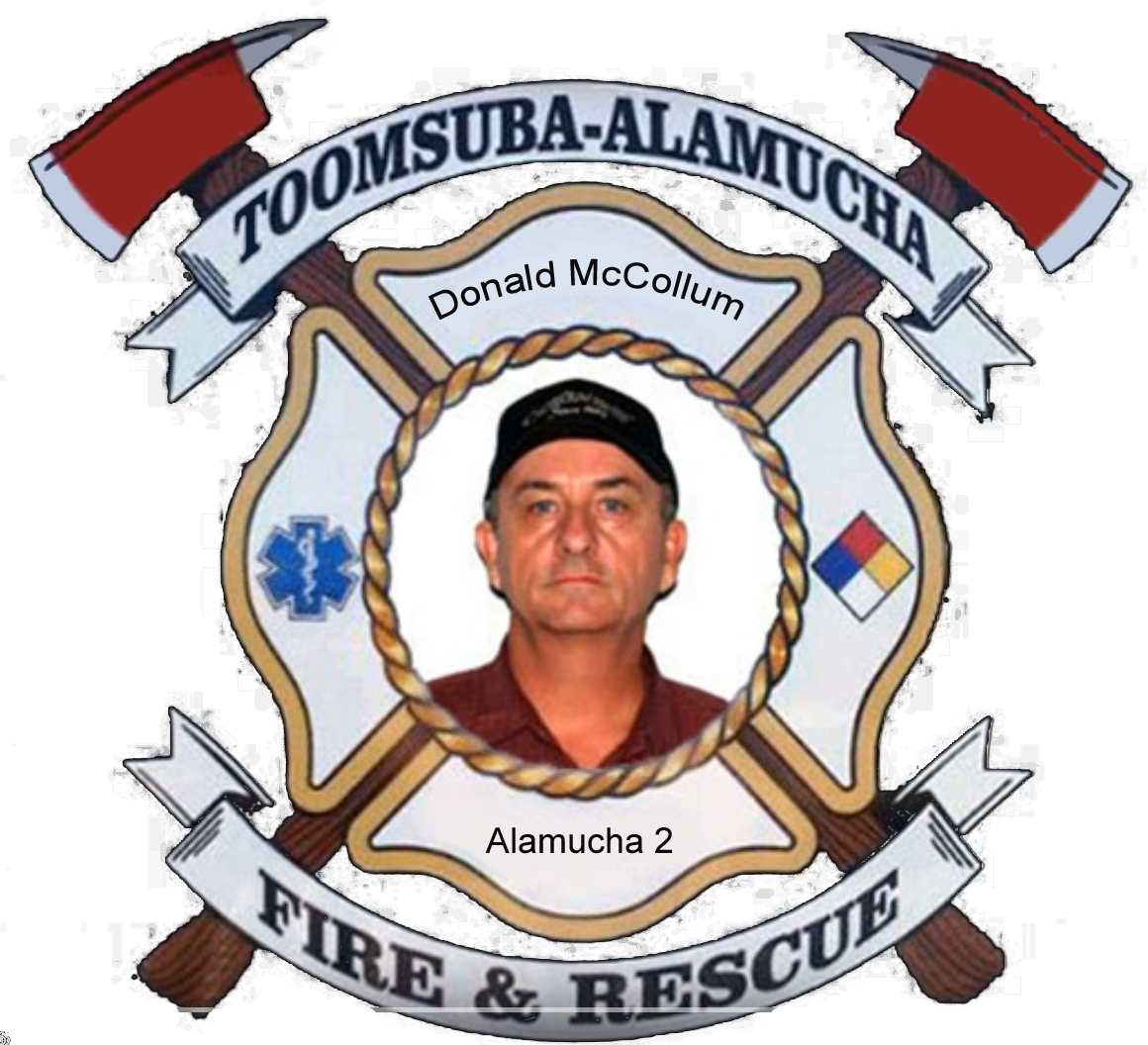 Donald McCollum; Alamucha Firefighter #2