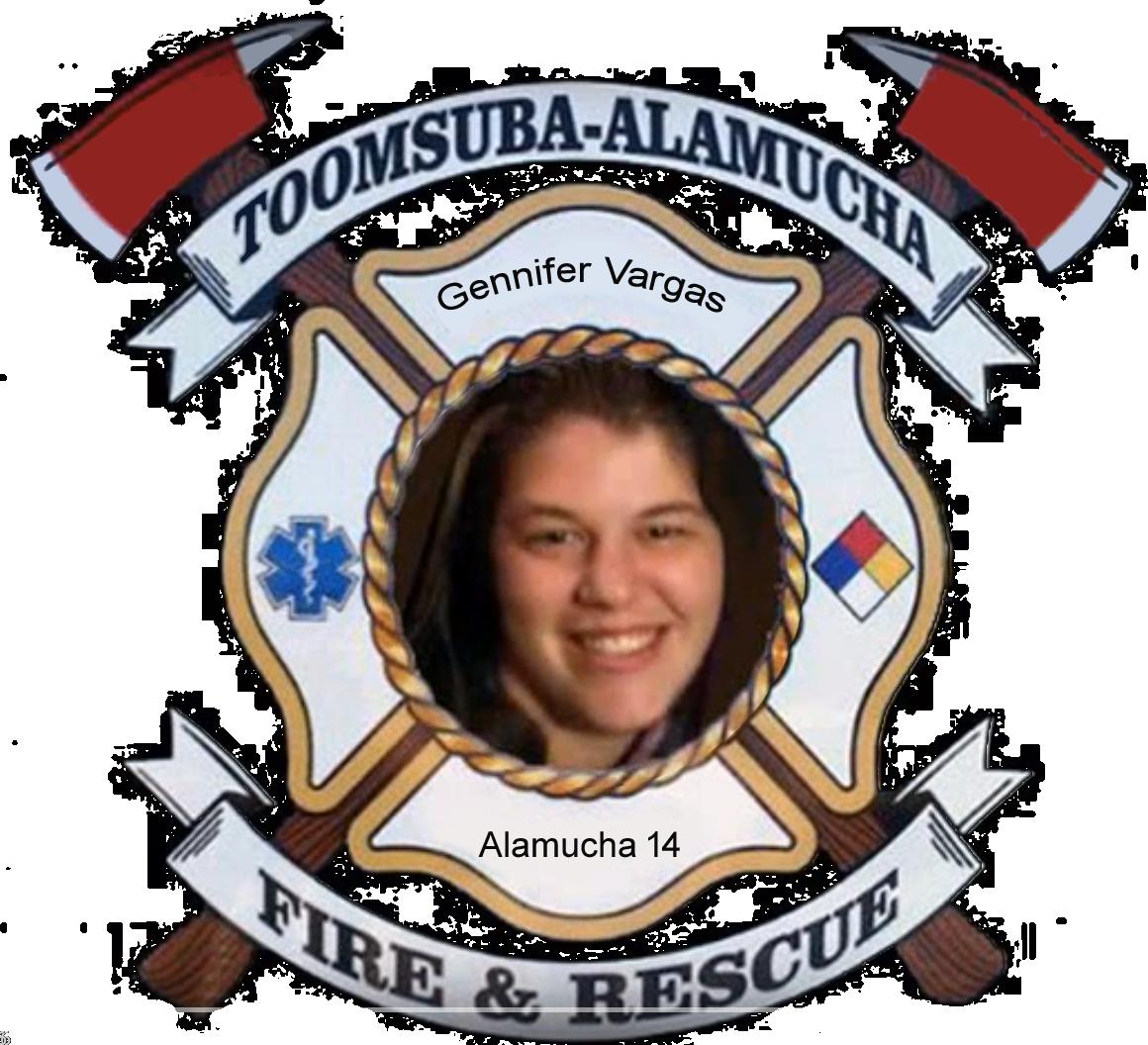 Gennifer Vargas; Alamucha Firefighter
