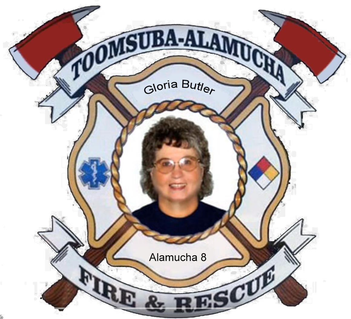 Gloria Butler; Alamucha Firefighter #8