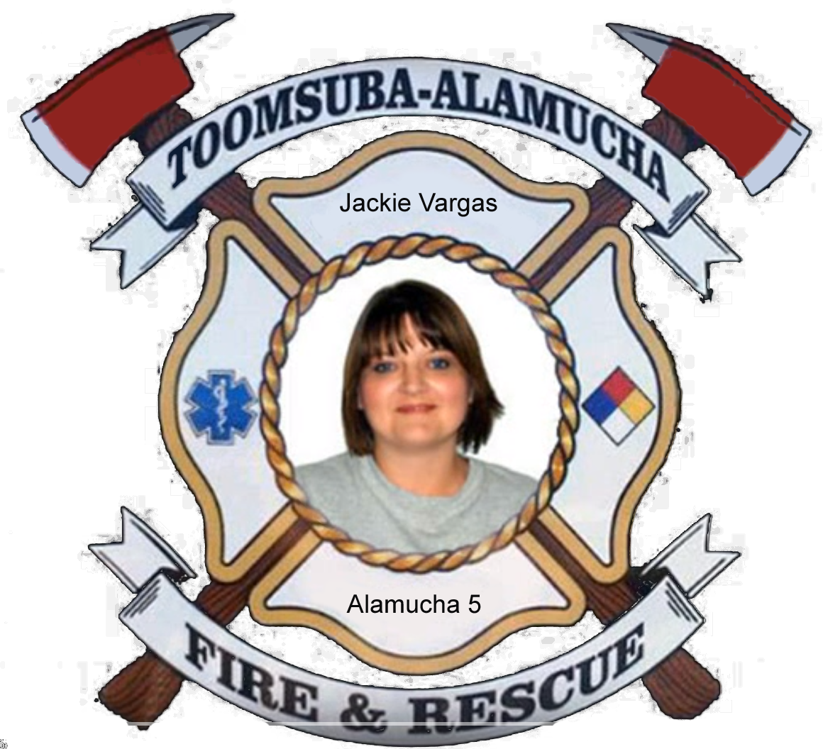 Jackie Vargas; Alamucha Firefighter