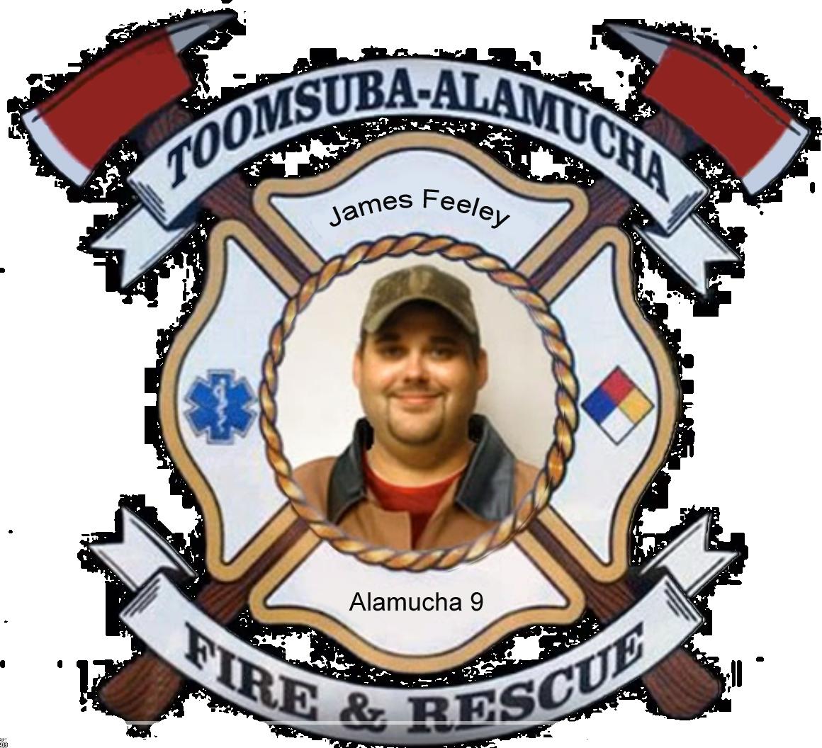 James Feeley; Toomsuba Firefighter
