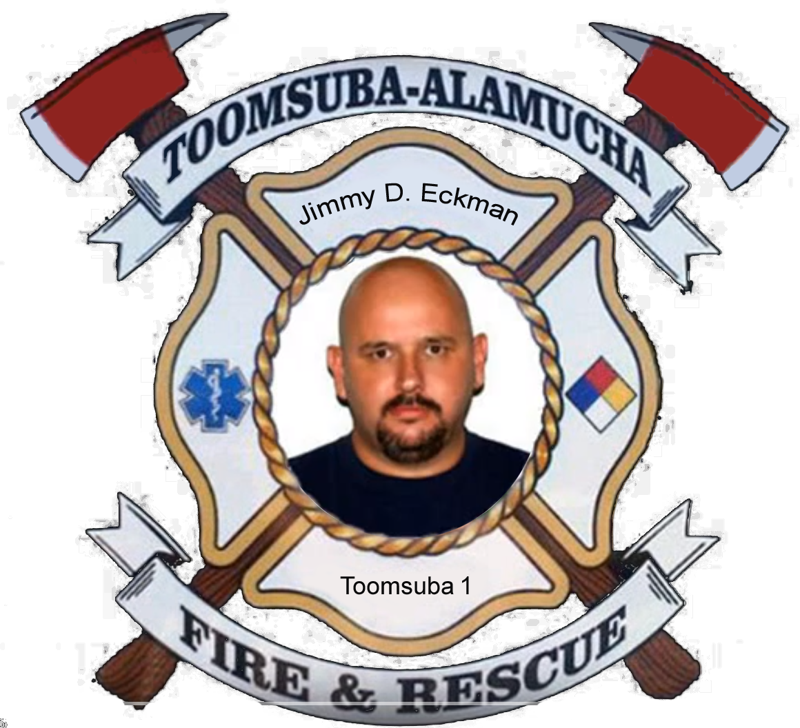 Jimmy Eckman; Toomsuba Firefighter #12