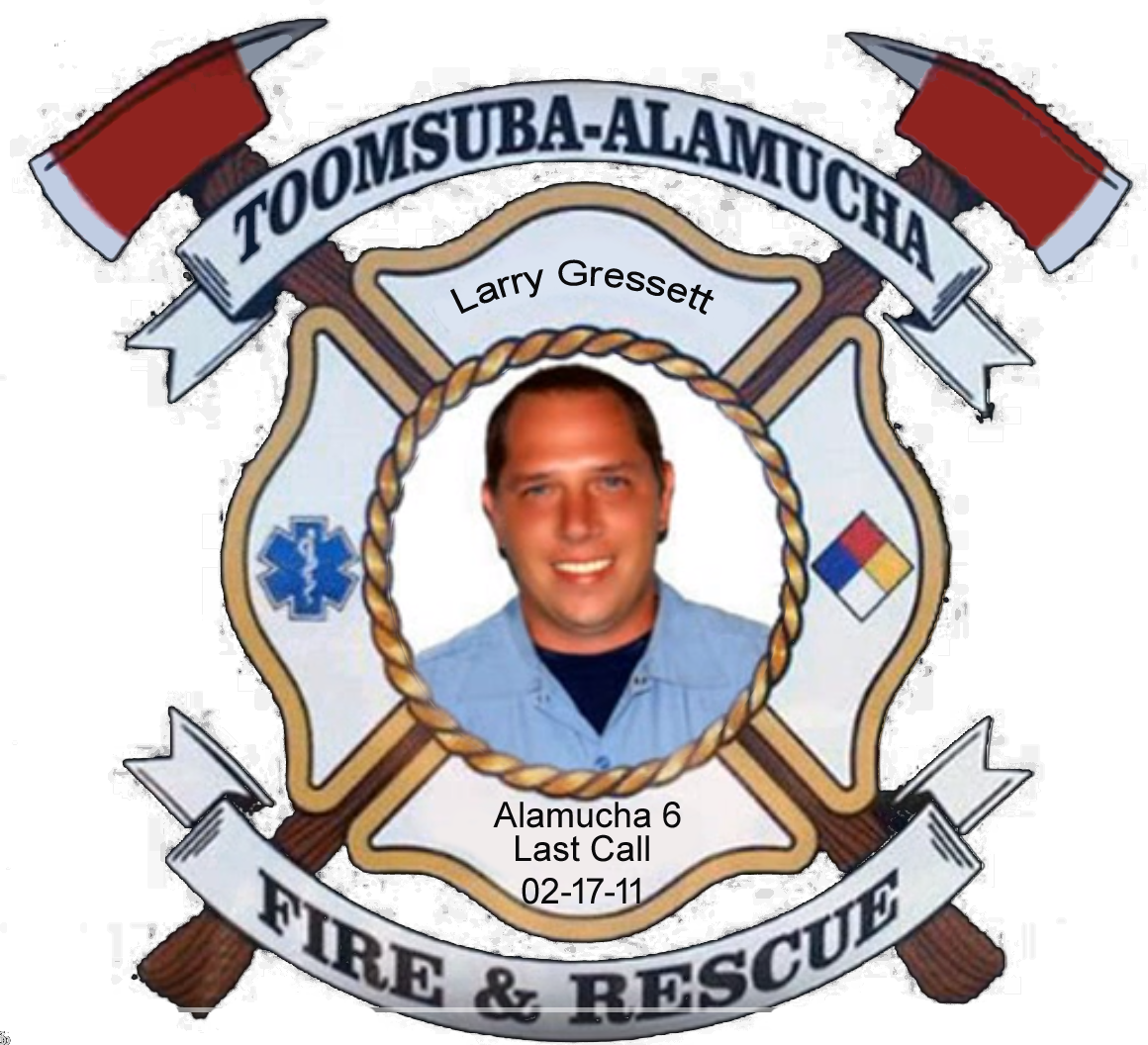 Larry Gressett; Alamucha Firefighter