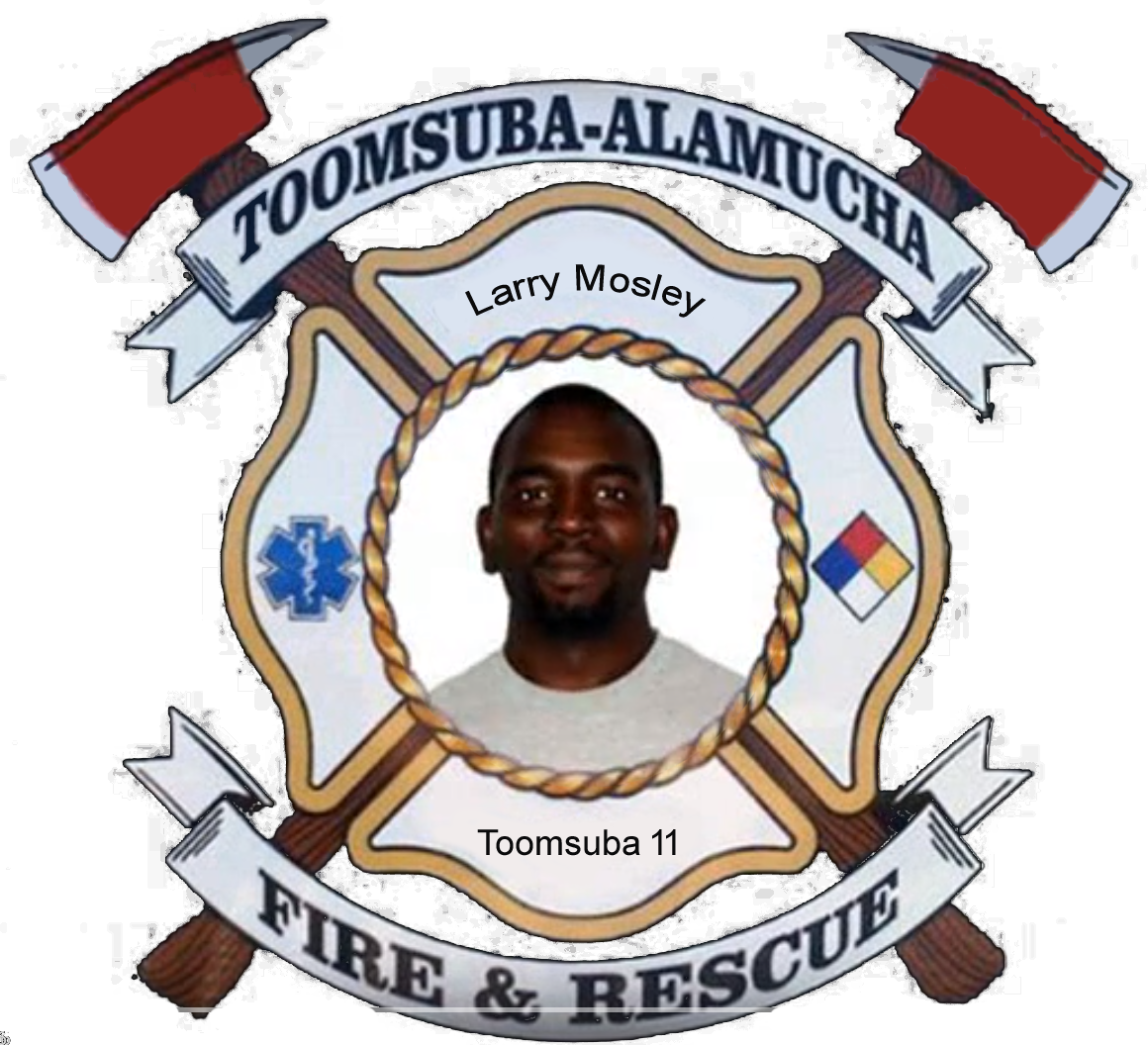 Larry Mosley; Toomsuba Firefighter