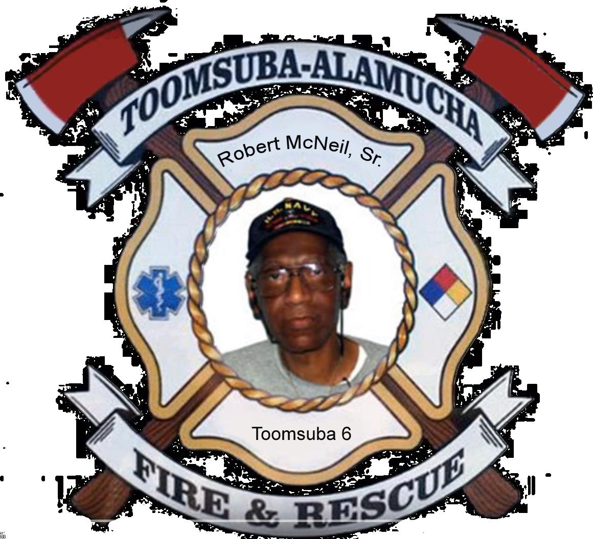 Robert McNeil; Toomsuba Firefighter