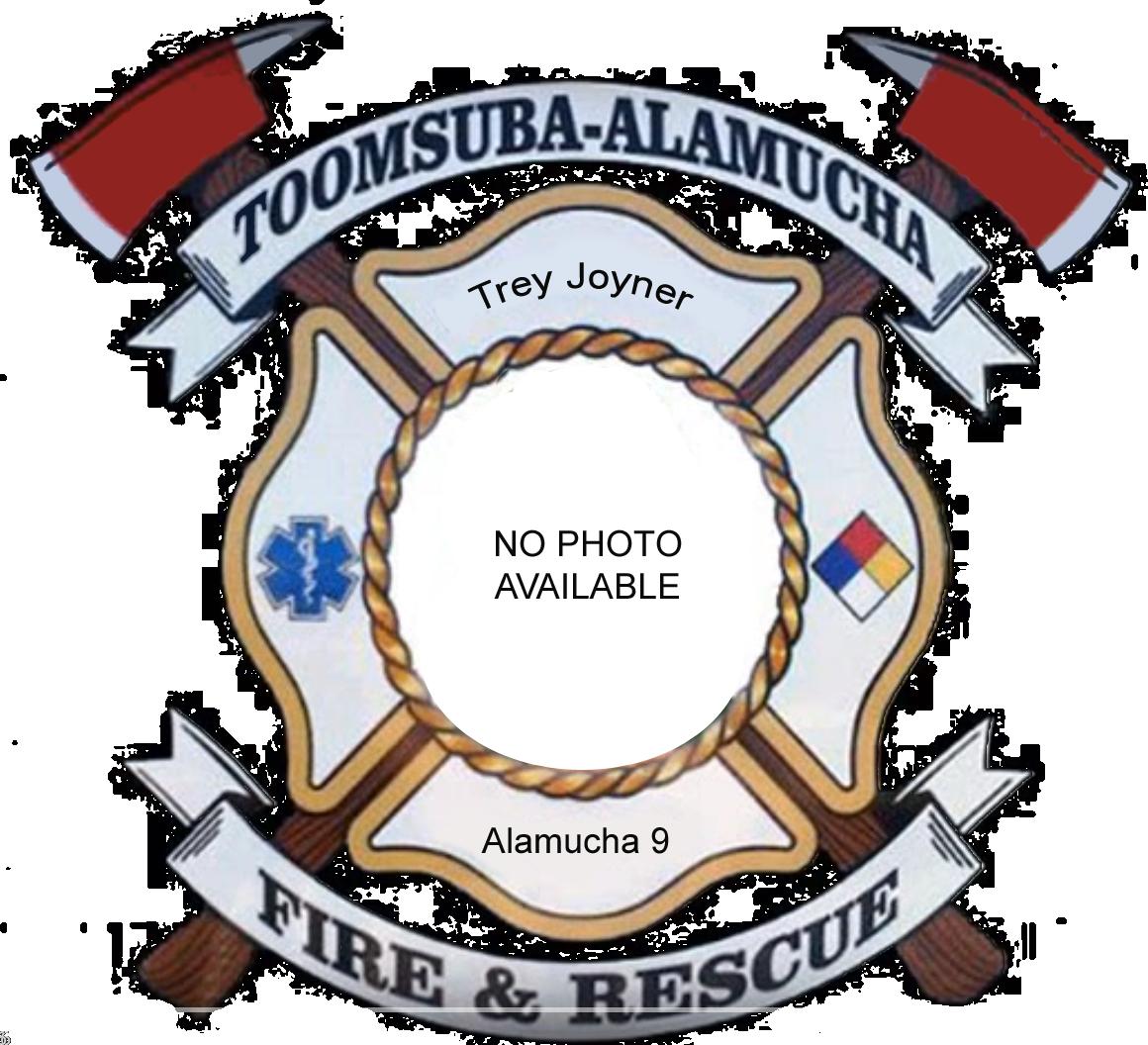 Trey Joyner; Alamucha Firefighter #9