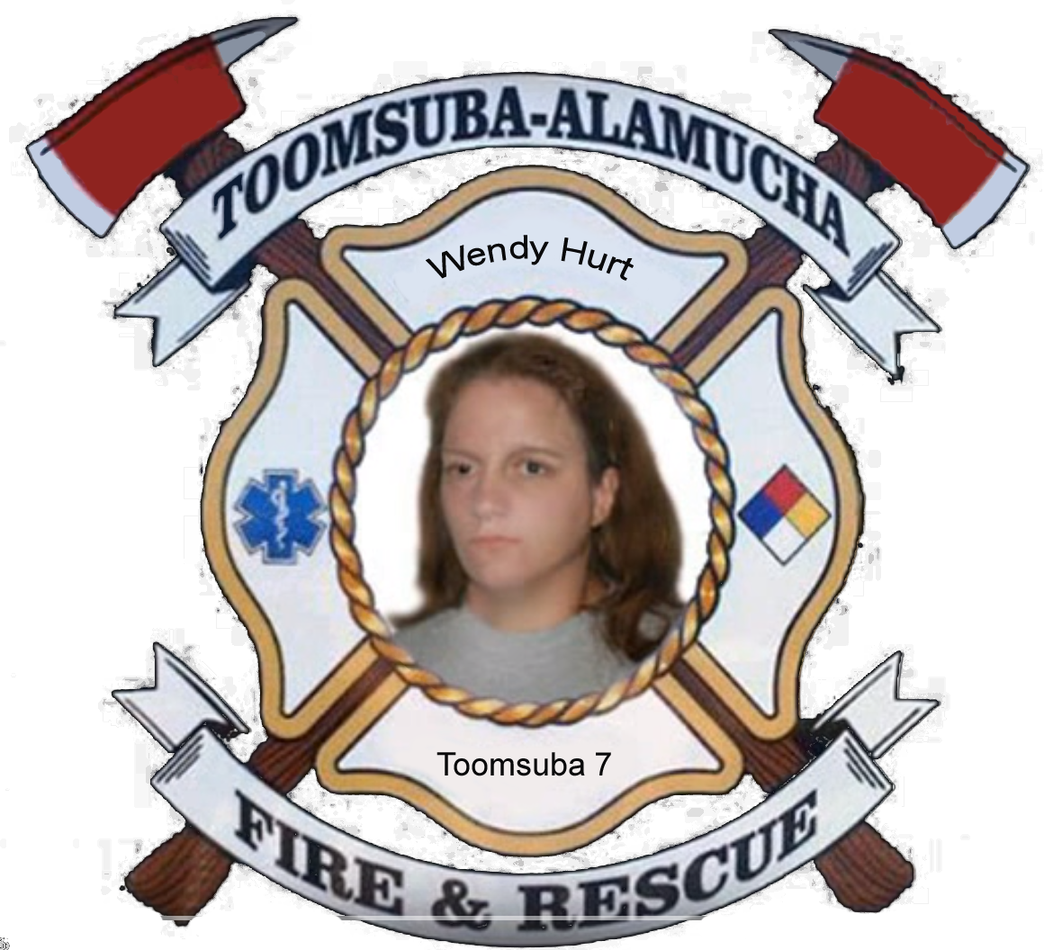 Wendy Hurt; Toomsuba Firefighter #7