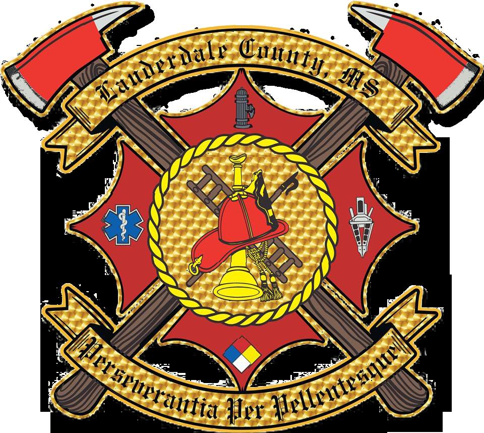 Lauderdale County Fire Service Emblem